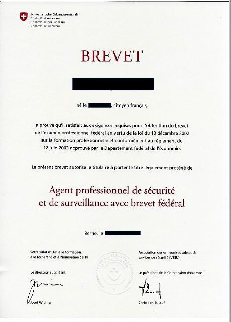 Cips Formations Securite Brevet Federal Securite Privee Ass